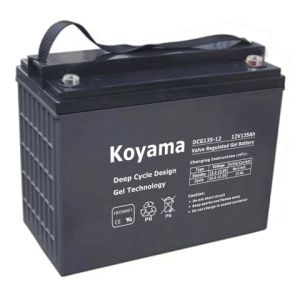 12V135ah-Ev Battery for Electric Vehicle &Recreational Vehicle (RV) (DCG135-12) pictures & photos