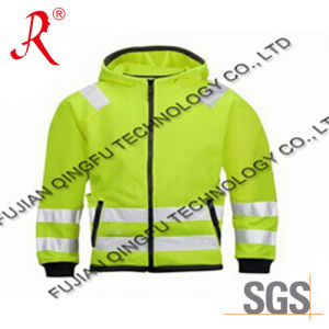 The Reflective Safety Jacket with Hood (QF-539) pictures & photos