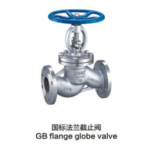 Standard GB Flange Globe Valves for Industrial pictures & photos