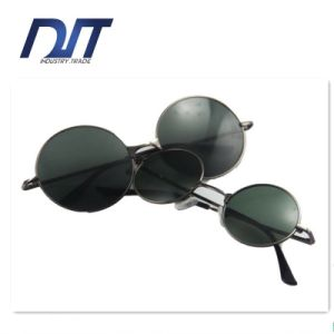 Factory Direct Transparant Pink Color Frame Lady Sunglasses for Promotion pictures & photos