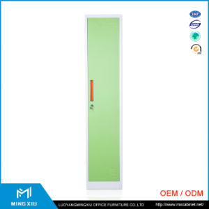 China Mingxiu Low Price 1 Door Metal Clothes Locker / Single Steel Wardrobe Locker pictures & photos
