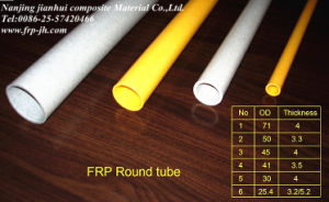 Jh726 High Pressure FRP Round Tubes pictures & photos