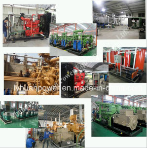 with Stamford Alternator1000rpm 500kw or 600kw Coal Bed Gas Generator Industrial Generator China Lvhuan Brand pictures & photos