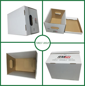 Corrugated Cardboard Archive Box for Heavy Storage pictures & photos