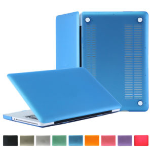 Hotselling Frosted Clear Transparent PC Cover Case for MacBook Air pictures & photos