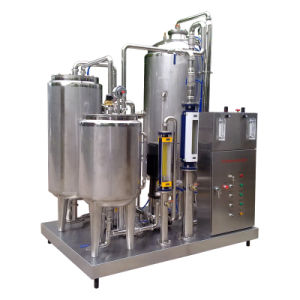 Full Automatic Food Sanitary Stainless Steel 2000L/H Soft Drinks Mixer pictures & photos