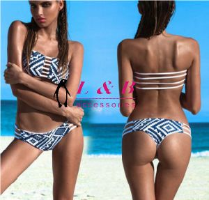 New Fashion Hot Women Sexy Handmade Crochet Brazilian Bikini Swimwear pictures & photos