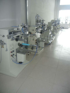 Spc-300m Pneumatic Cylindrical/Flat Screen Printer pictures & photos