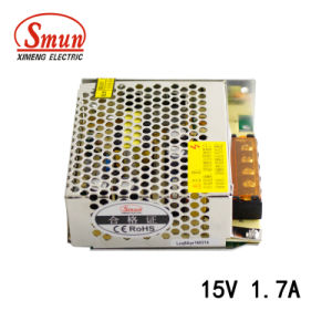 Smun 25W 15V 1.7A Switching Power Supply with Ce Certificate pictures & photos