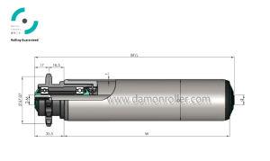 Steel Sprocket Driven Conveyor Roller (2214/2224) pictures & photos
