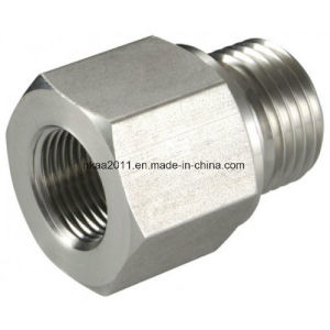 Precision Hexagon Stainless Steel Male Threaded Pipe Fitting Reducing Adaptors pictures & photos