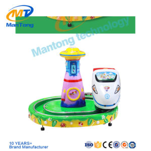 Kids Train Coin Operated Little Go Around Train Indoor Kiddy Ride pictures & photos