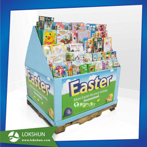 Recyclable Floor Cardboard Display, Corrugated Paper Display Rack/ Stand pictures & photos