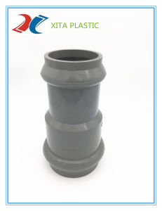 PVC Rubber Ring Coupling (F/F) with Faucet Type pictures & photos