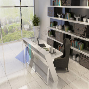 U Shape White Office Table for Manager pictures & photos