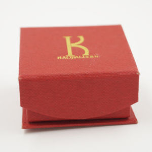 Red Velvet Gift Diamond Ring Jewelry Box for Promotion (J85-AX) pictures & photos