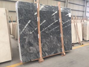Polished Natural White / Black / Green / Grey Stone Marble for Floor Ocean Star pictures & photos