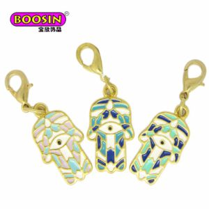 Fashion Wholesale Enamel Hamsa Hand Charm for Jewelry Making pictures & photos