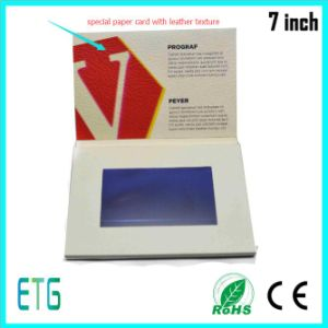 7 Inch Touch/ IPS/HD LCD Screen Video Brochure for Hot Sale pictures & photos