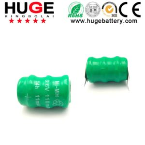 3.6V NiMH& NiCd Button Cell battery(KBL2) pictures & photos