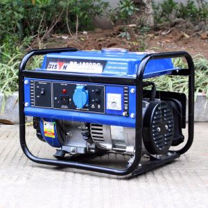Bison (China) BS1800A Single Phase Round Frame 10000watt Gasoline Generator pictures & photos