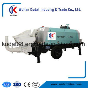 Diesel Tralier Concrete Pump Hbt60d pictures & photos