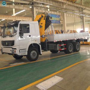 Sinotruck 371HP 6X4 Truck 5 Tons Truck-Mounted Crane Truck pictures & photos
