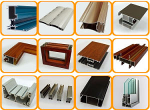 Pure Anodized Aluminum Profiles Alloy for Sliding Window with Ce/TUV Certification 6000 Series pictures & photos