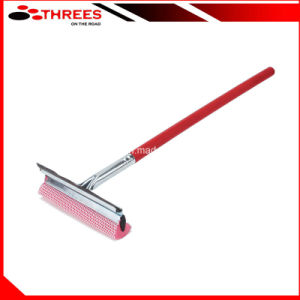 Car Window Squeegee with Wooden Handle (1507301) pictures & photos
