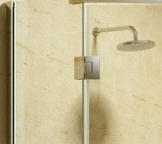 Neo-Angle Stainless Steel Frameless Shower Enclosure Cabin Room pictures & photos