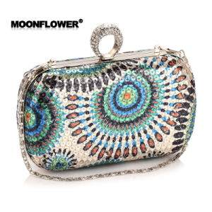 Fashion Tide Package Dinner Clutch Bag Hand Ladies Package Ruili Business Ol Bag pictures & photos