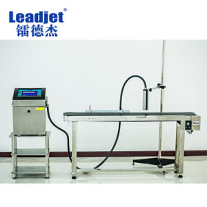 Leadjet V150 Date and Code Cij Industrial Inkjet Printer pictures & photos
