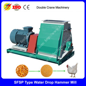 High Efficiency Poultry Feed Hammer Mill, Chicken Feed Hammer Mill, Poultry and Livestock Feed Crusher, Animal Feed Grinder