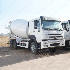 12m3 Sinotruk Brand Concrete Cement Mixer Truck with 8X4 Driving Type pictures & photos