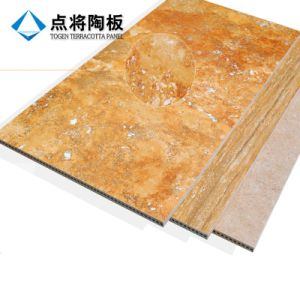 3D Inkjet Terracotta Rain Screen Cladding Panel with Fixation Accessorie pictures & photos