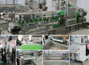 Pet Waste Filament Recycling and Pelletizing Production Line pictures & photos