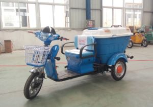 2017 500W Configuration Instructions of Fully Enclosed Wheel Electro Tricycle pictures & photos