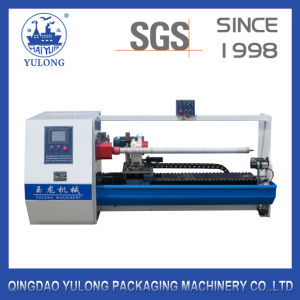 Yl-708b Single Shafts Auto Cutter, Adhesive Tape Making Machine pictures & photos