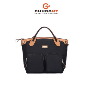 Chubont High Qualilty Nylon+Micro Fiber Material Fashion Ladies Handbag pictures & photos