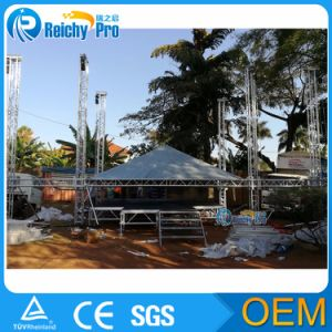 Truss with Roof Aluminum Triangle Roof Truss Curved Roof Truss pictures & photos