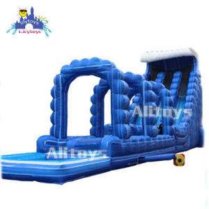 Lilytoys Beach Castle Inflatable Water Slide for Sale pictures & photos