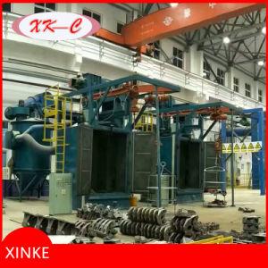 Overhead Rail Hanger Hook Type Shot Blasting Machine Qd376f pictures & photos