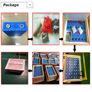 Rechargeable 3.2V 100ah 180ah 200ah Lithium LiFePO4 LFP Battery Cell pictures & photos