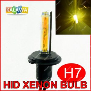 H7 Single Beam HID Xenon Bulbs DC 35W 3000k Amber Best for Fog Lamp H1 H3 H4 H8 H9 H11 H27 880 9005 9006^Jmq