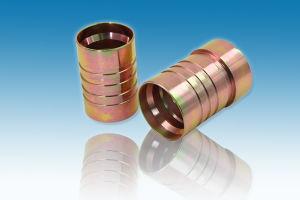 Parker Hydraulic Carbon Steel Zinc Plated Thread Ferrule