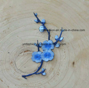 Stock Plun Blossom Garment Accessories Embroidery Flower pictures & photos