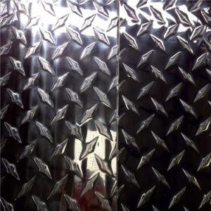 Checkered Aluminium Plate 5754, 5052 pictures & photos