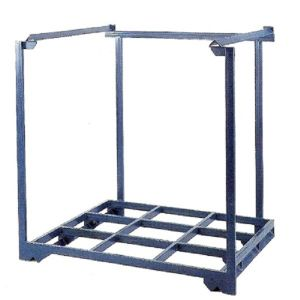 Nestainer Warehouse Storage Stacking Rack