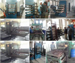 Xlb550 Rubber Tile Making Machine for Flooring Mat pictures & photos