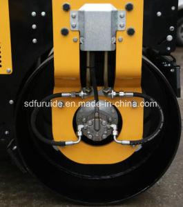 Perkins Engine Tandem Drum 3 Ton Vibratory Roller for Sale pictures & photos